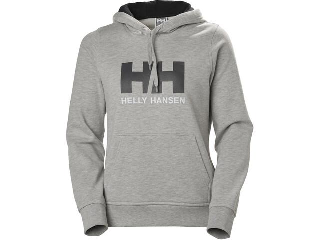 Helly Hansen HH Logo Veste à capuche Femme, grey melange
